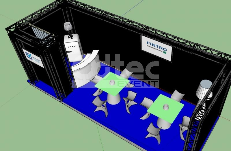 PROJET CLIENT 3D (STAND EXPO)